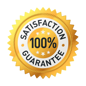 Satisfaction Guarantee Seal of Approval