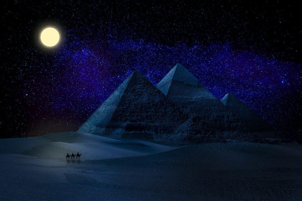 Egypt Moon